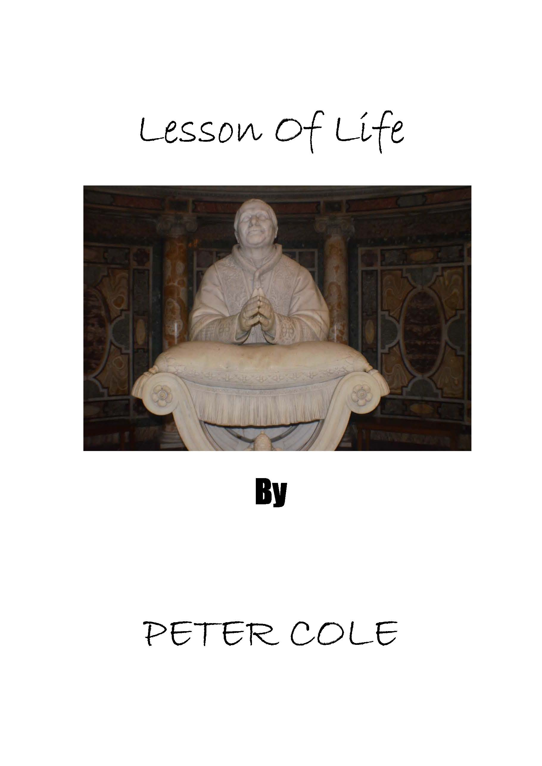 Lesson Of Life Book Cover